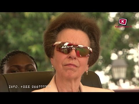 Princess Anne Pay Visit to Otumfuo Osei Tutu II at Kumasi Manhyia(Full Documentary)