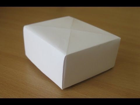 Коробочка из бумаги своими