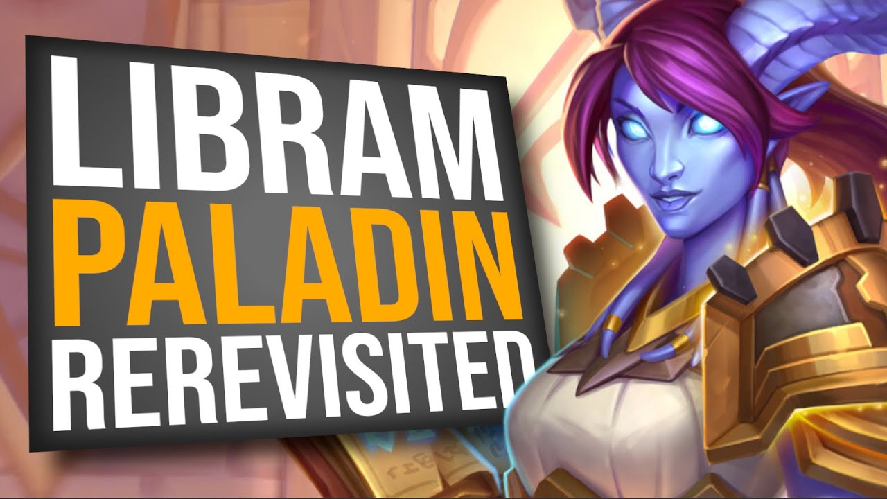 Re-re-re-revisiting Libram Paladin!! | Scholomance Academy | Hearthstone