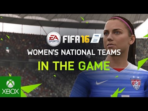 FIFA 16 – Women's National Teams – IN THE GAME