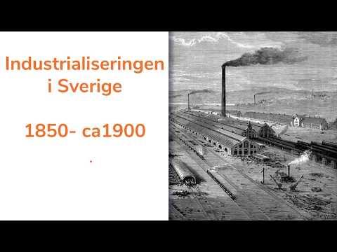 industrialiseringen i sverige