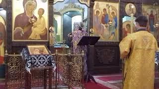 Апостол и Евангелие. Ранняя врскресная Литургия.  Торжество православия. Марфо-Мариинская обитель