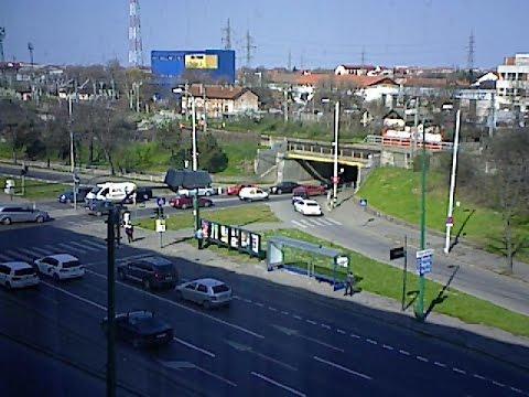 Timisoara, bulevardul Republicii, Pasaj Jiul. Imagini live oferite de Soft Class si Netcam.ro