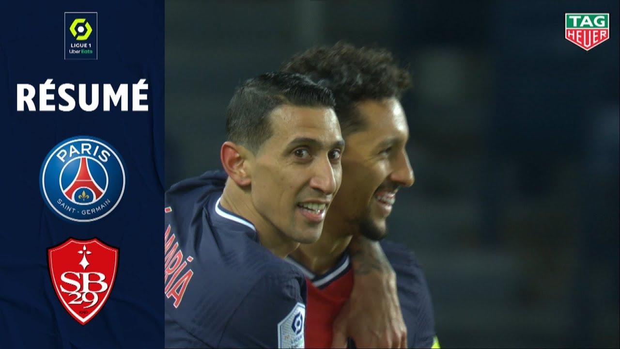 Download PARIS SAINT-GERMAIN - STADE BRESTOIS 29 (3 - 0) - Résumé - (PSG - SB29) / 2020-2021