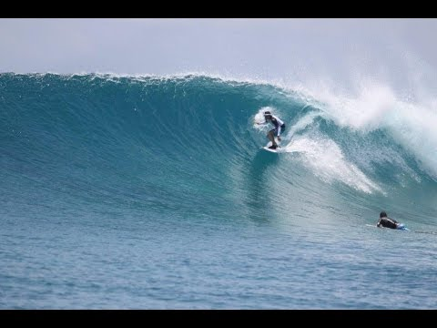 Surfing the Maldives - Cokes, Chickens, Sultans, Honkys, Kandooma, Tucky Joes all with Perfect Wave