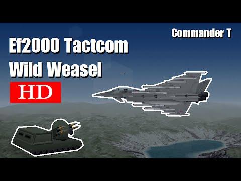 Eurofighter EF2000 Tactcom Wild Weasel 1080HD [Episode 22]