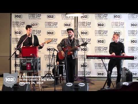 X Ambassadors in the CD102.5 Big Room