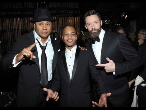 LL Cool J T.I. Hugh Jackman  Music Man Rap 2014 Tony Awards