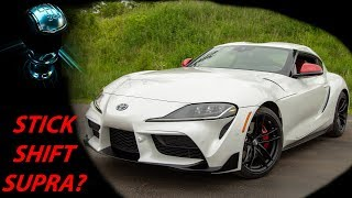 2020 Toyota Supra Gets Manual Transmission Option: Car News