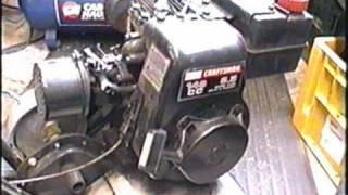 Carburetor Clean & Rebuild On 3.5 Hp Tecumseh Engine Part 1 Of 2