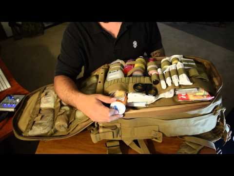 Voodoo Tactical Spec Ops Medical Bag A Prepper Kit!