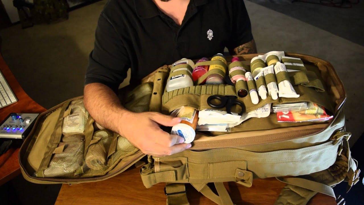 Voodoo Tactical Spec Ops Medical Bag A Prepper Kit! a2c86cd32e355