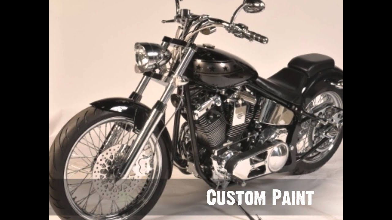 2001 knievel motorcycles evel commemorative bobber soft tail for sale youtube. Black Bedroom Furniture Sets. Home Design Ideas