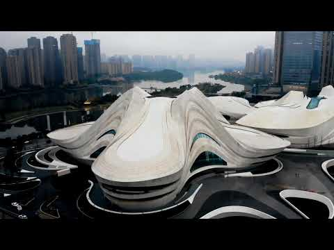 Changsha Meixi Lake International Culture & Arts Center 梅溪湖国际文化艺术中心 / Dji Mavic Air