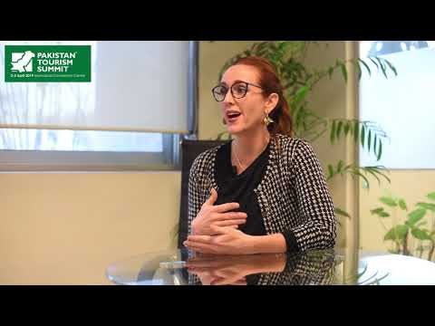 Ms. Lashley Anne Pulsipher - Chief Marketing Officer Hashoo Hotels on Pakistan Tourism Summit