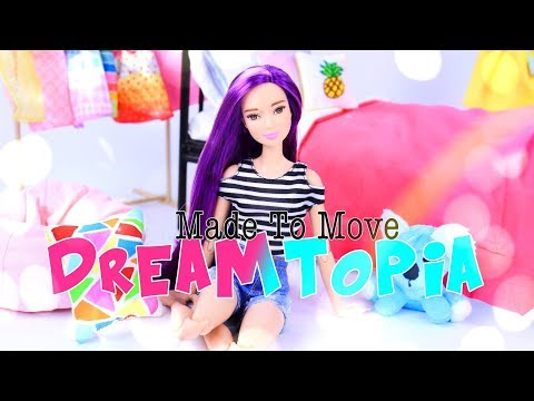 DIY - Custom Doll:  Made to Move Barbie Dreamtopia Dolls