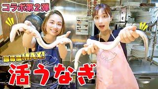 【コラボ】寺田有希さんがゲストに登場!! 美女と一緒に難易度MAXの「うなぎ」捌きました!