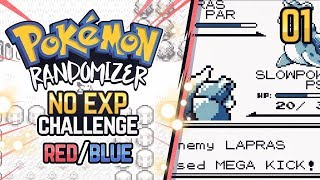 No EXP Challenge Randomizer | Pokemon Red/Blue #1