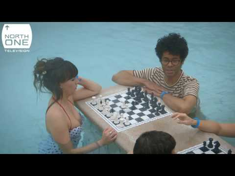 Richard Ayoade, Aisling Bea & bath chess in Budapest - Travel Man: 48 Hours in...