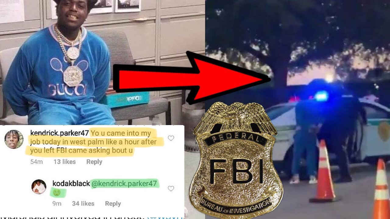 Kodak Black STALKED by FBI days before being ARRESTED @ ROLLING LOUD for GUNS (jackboy explains)