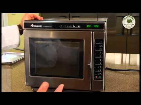 Amana Microwave RC30S2 Overview Training Video