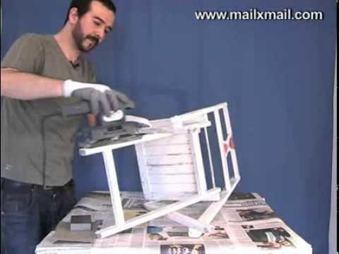 Pintar silla Bricolaje  YouTube