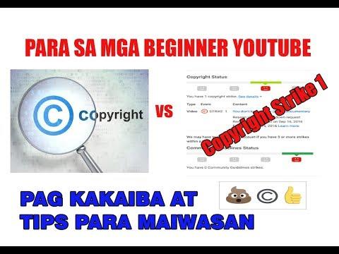 How to Avoid Copyright Strikes on YouTube (Tagalog)