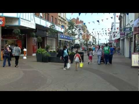 Town Centre, Rhyl, North Wales.