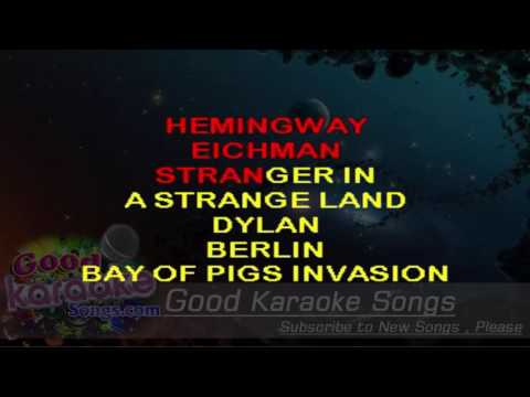 We Didn't Start The Fire - Billy Joel ( Karaoke Lyrics )