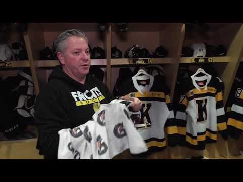 Chris Cook, Equipment Manager Of The Kingston Frontenacs