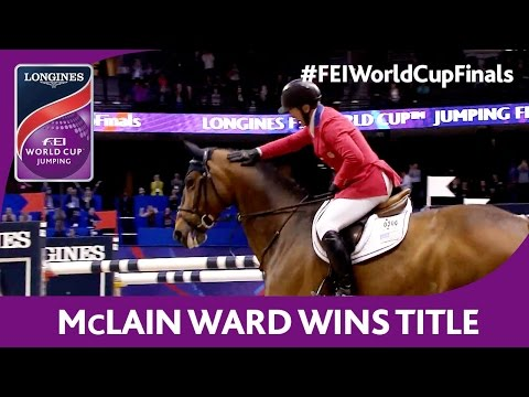 McLain wins title without any penalty! - Longines FEI World Cup™ Jumping 2016/17 Final
