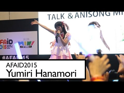 AFAID 2015 - Yumiri Hanamori - Blue Moment - LIVE - FANCAM