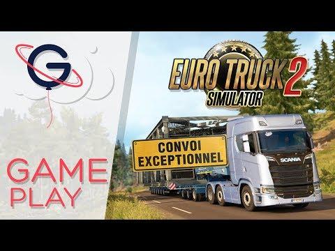 Euro Truck Simulator 2 - DLC SPECIAL TRANSPORT : Convoi Exceptionnel !