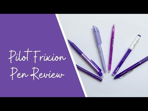 Give Me All the Pens // Pilot Frixion Erasable Pen Review