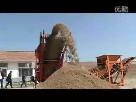 China supply LSE-20 Roller Sand Screening Machine