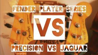 Fender Player P bass vs Fender Player Jaguar bass.