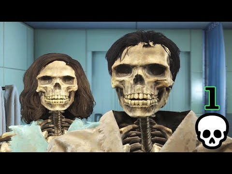 Modded Permadeath Fallout 4: Meet the Skeltones [Ep. 1]