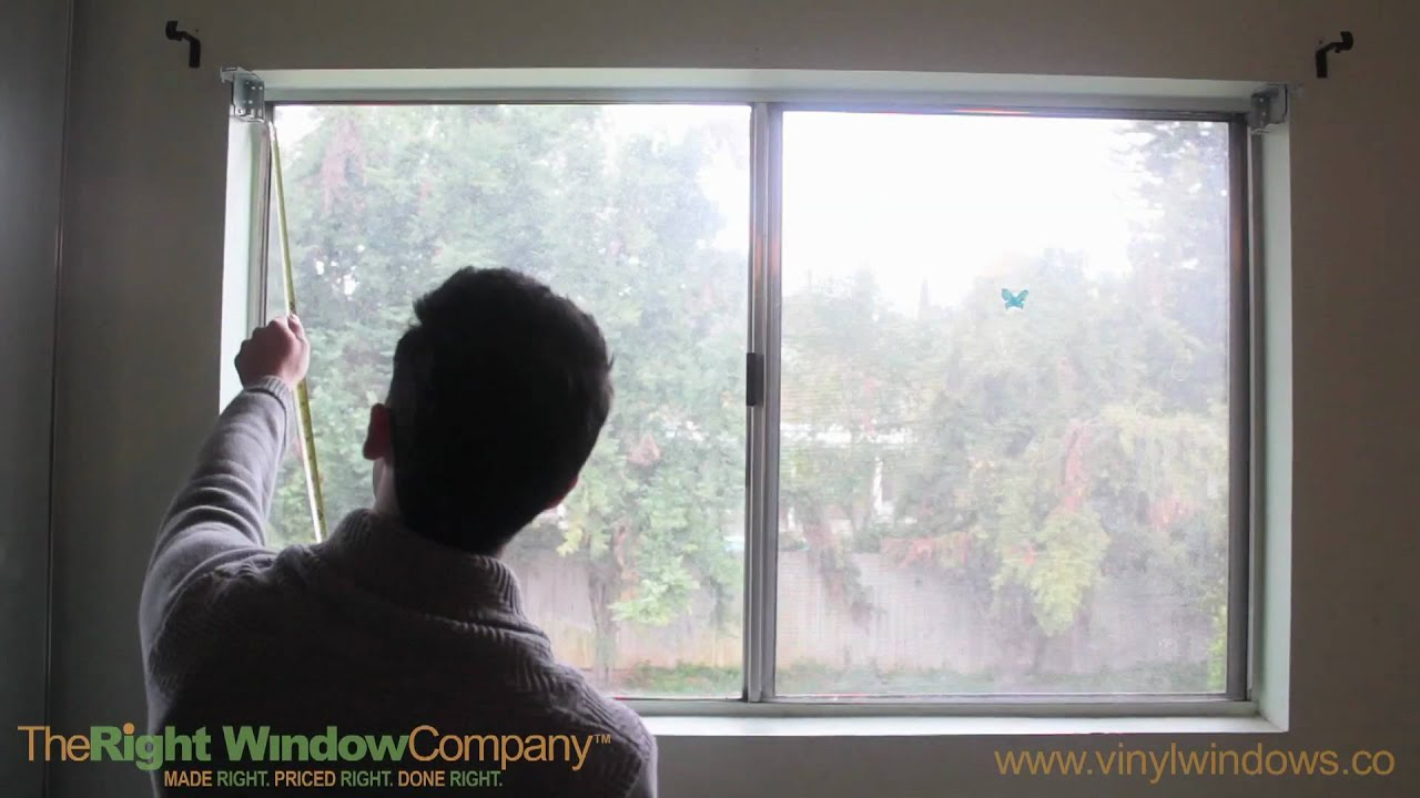 How to Measure for Replacement Windows The Right Window pany
