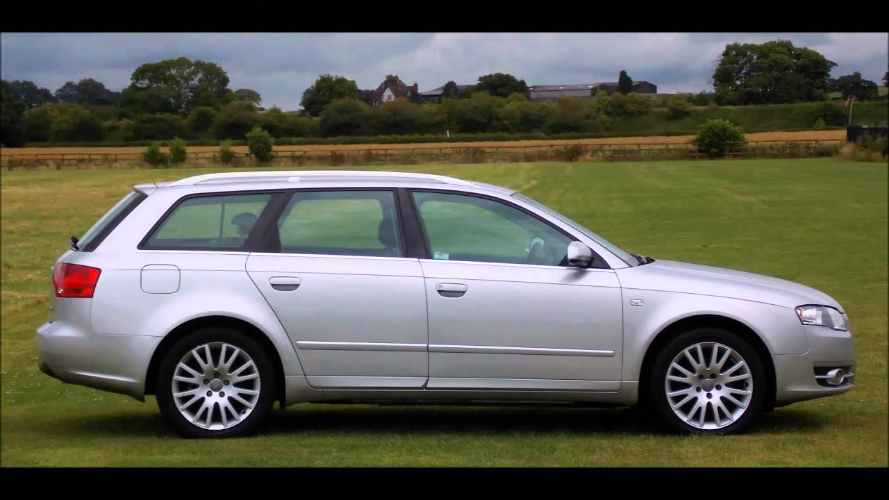 2006 audi a4 avant 2 0 tdi youtube. Black Bedroom Furniture Sets. Home Design Ideas
