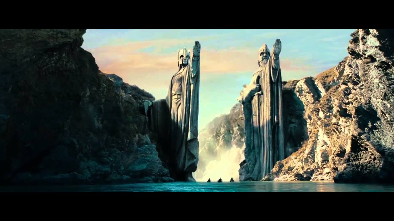 fantasy Art, The Lord Of The Rings, Statue, River, Argonath ...