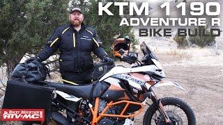KTM 1190 Adventure R Bike Build