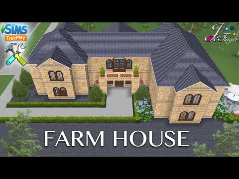 Sims FreePlay 🌳🏡| FARMHOUSE |🌾🐓 By Joy.