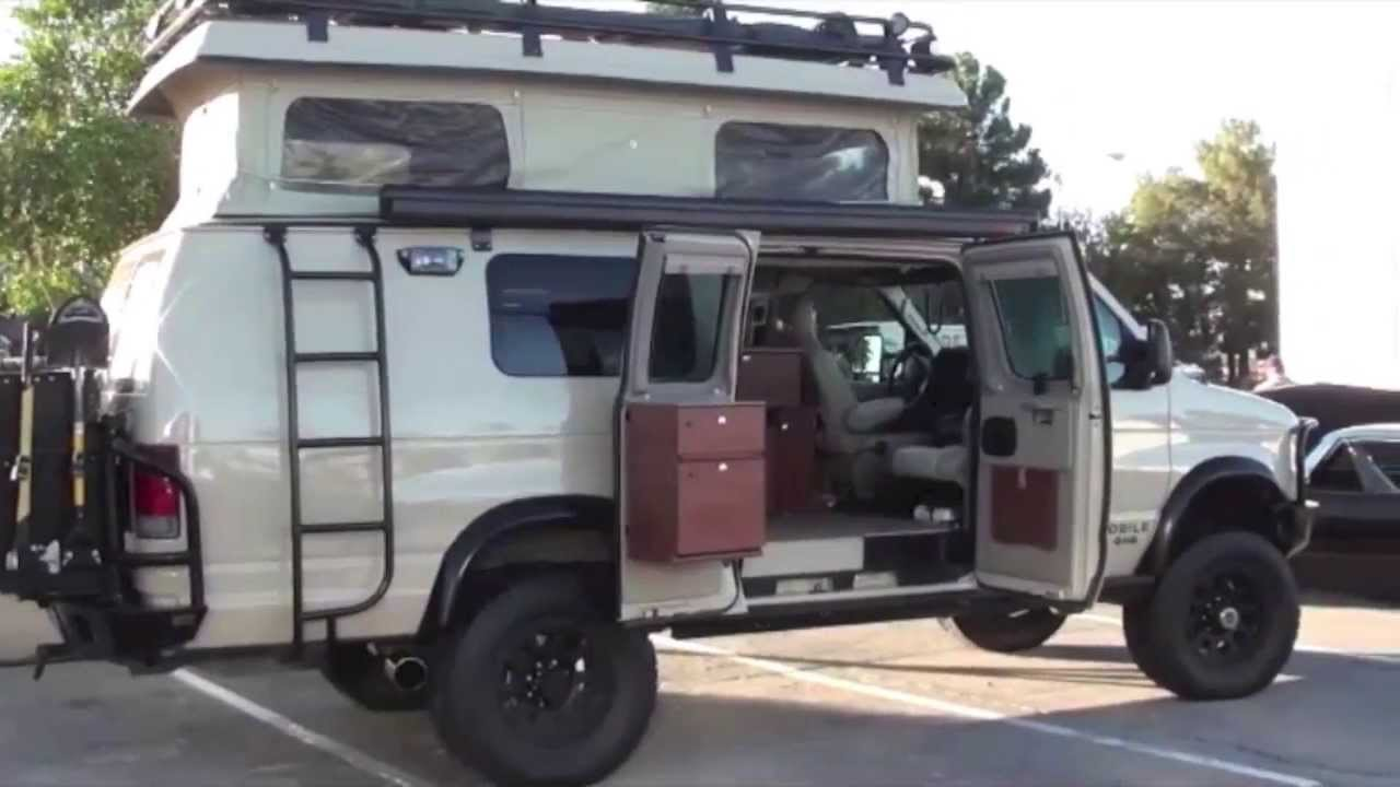 ford 4x4 camper van sportsmobile custom 4wd conversion used autos post. Black Bedroom Furniture Sets. Home Design Ideas