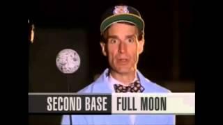 Nye and baseball moon phase