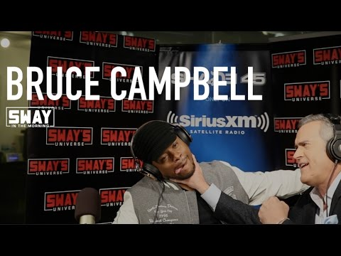 Bruce Campbell Interview on Sway in the Morning