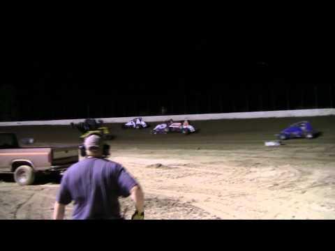 Clay County Speedway Sprint Flip 10-13