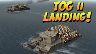 tog 2 amphibious landing on d day britain s finest warship