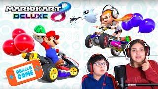 Mario Kart 8 Deluxe Super Carrera con Karla vs Manuel Abrelo Game Mario Kart 8 Deluxe en Español
