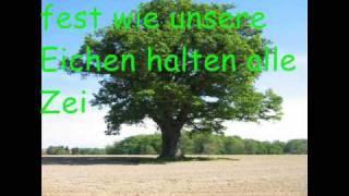 Das Niedersachsenlied, mit Text