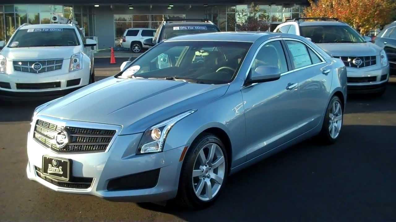 2013 Cadillac Ats Glacier Blue Burns Cadillac Rock Hill